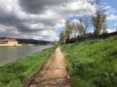Sunday walk east along Arno - 3