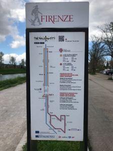 Sunday walk east along Arno - 4