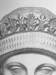 Bargue 3 crown detail - 1