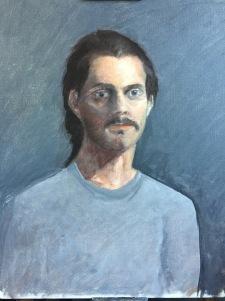 AFM Sight SIzed Oil Portraits - 1