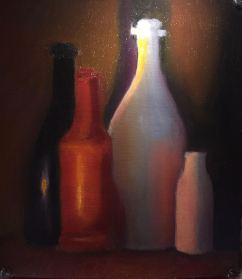 Dancing bottles - 1