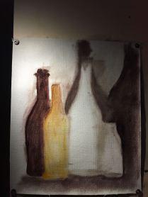 Dancing bottles - 2